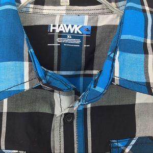 Tony Hawk sz XL plaid button up long sleeve shirt